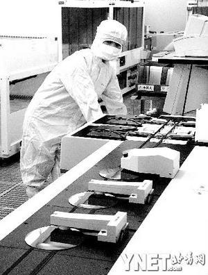 生产集成电路半导体抛光硅片的浙江海纳公司生产