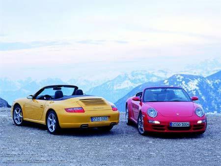 保时捷911 carrera系列敞篷版四驱跑车