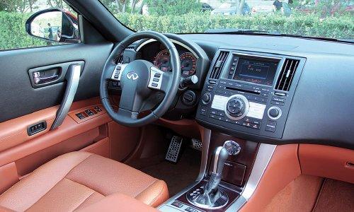 试驾英菲尼迪fx35(图)-汽车频道进口平行宝马x6高配图片
