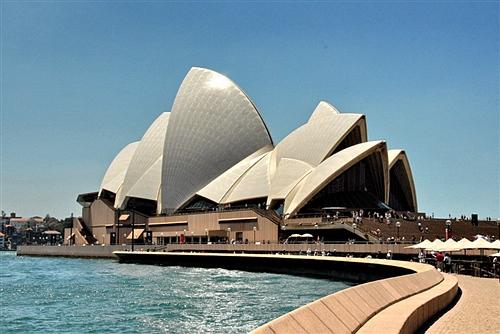 [组图]悉尼歌剧院:澳洲地标