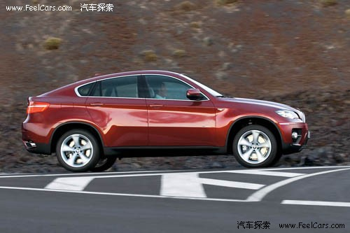 开辟新战线 宝马混型车x6量产版正式发布