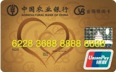 农行银保信用卡
