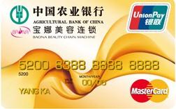 农行金穗宝娜贷记卡(双币金卡)