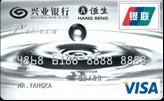 兴业VISA标准双币白金信用卡