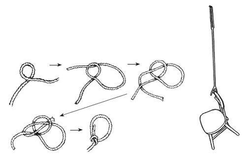 绳子打结图片手绘