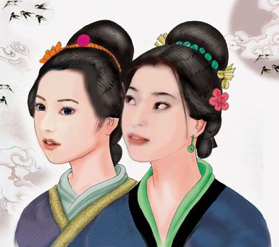 中国古代美女评价的时代变迁(15)(图)