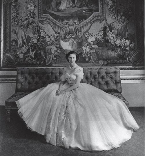 英国的玛格丽特公主殿下21岁生日时