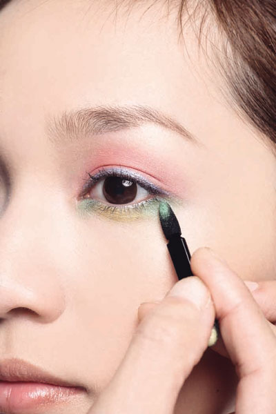 眼影×眼线的颜色搭配(4)